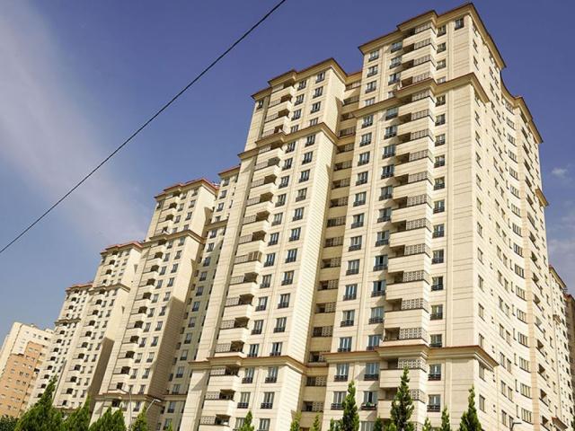 پروژه مسکونی بهاران واقع در اتوبان خرازی