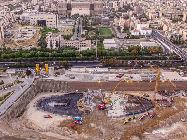 پروژه برجهای دوقلوی مخابرات